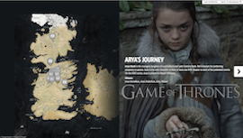 Game of Thrones: Arya's Journey