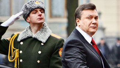 Yanukovych on the Run